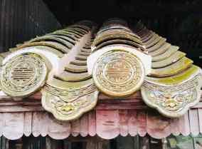 Tuiles de la cité impériale - Hue - Vietnam