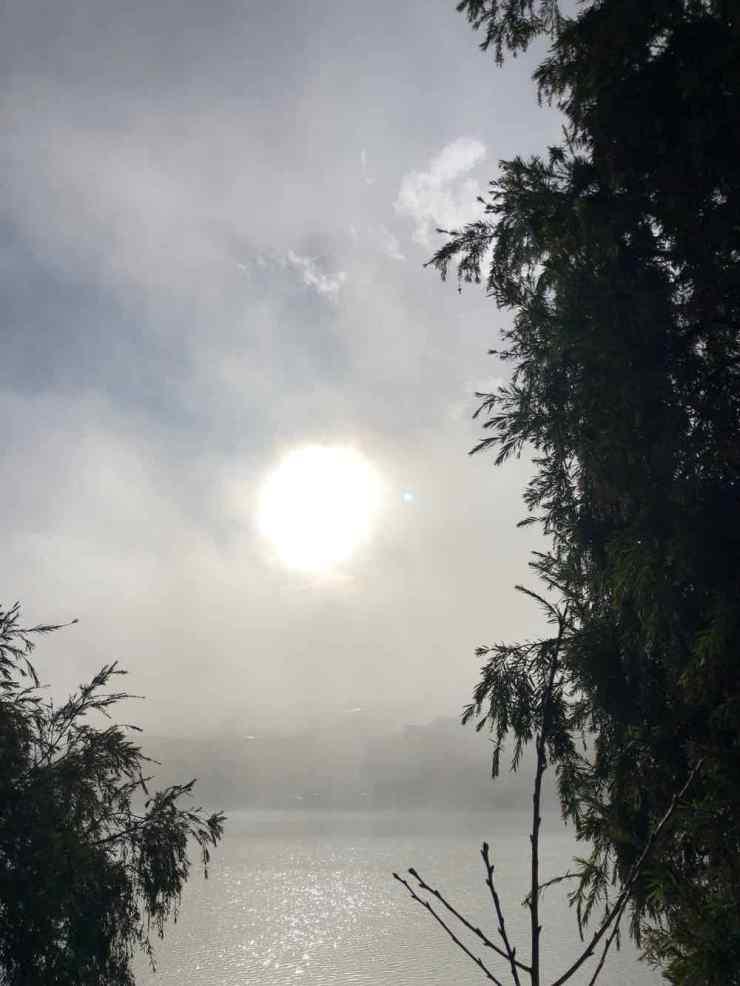 Le Lac de Sapa au petit jour - Vietnam