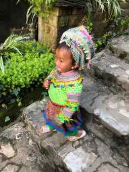 Fillette Hmong - Région de Sapa - Vietnam
