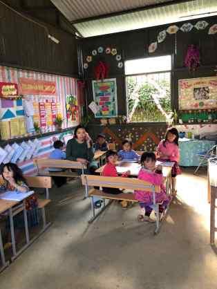 Ecole pour les villages Hmongs - Région de Sapa - Vietnam