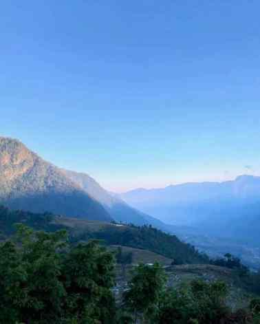 Montagne et Rizières - Région de Sapa - Vietnam