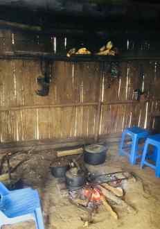 Foyer dans une maison Hmong - Chez Sing - Région de Sapa - Vietnam