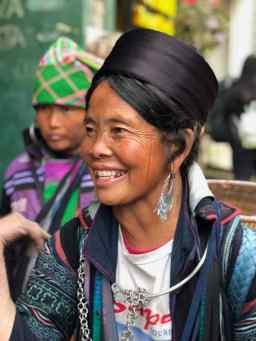 Tay - Portrait - Région de Sapa - Vietnam