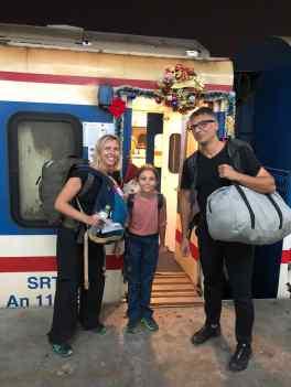 "Train de nuit ""Special Noel"" - Hanoi - Vietnam"