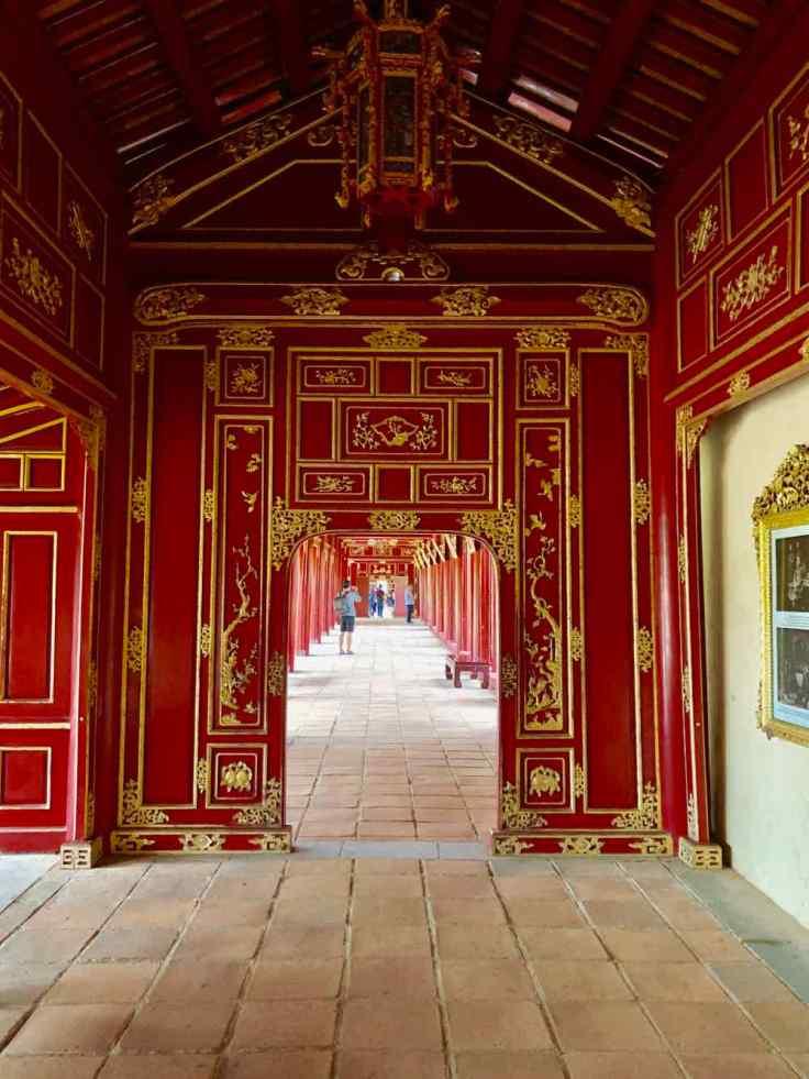 Galeries de la Cité Impériale - Hue - Vietnam