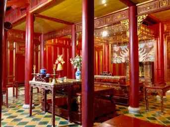 Temple du culte des empereurs NGuyen - Cité Impériale de Hue - Vietnam