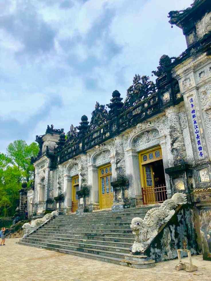 Mausolée de Khai Dinh - Hue - Vietnam