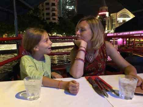 Fatiguées à Clarke Quay - Singapour