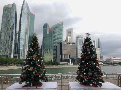 Noel se prépare dès début Novembre - Singapour