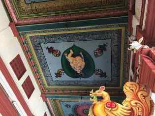 Dans le temple Sri Mariamman - Singapour