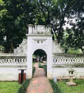 Porte réservée aux mandarins - Temple de la Littérature - Hanoï - Vietnam