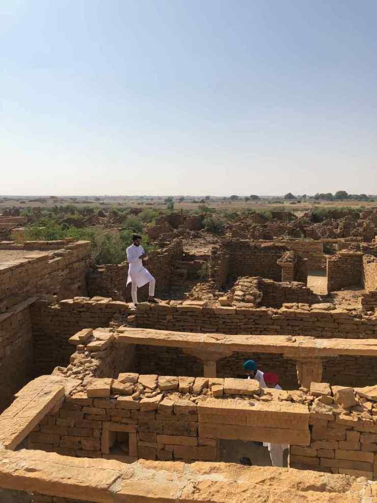 Dans le village fantôme - Désert du Thar - Rajasthan - Inde