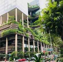Building verdoyant - Singapour