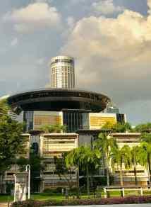 Buildings et Palmiers - Singapour