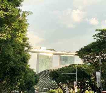 Première vision du Marina Bay Sand - Singapour