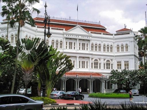 L'Hotel Raffle, avant travaux - Singapour