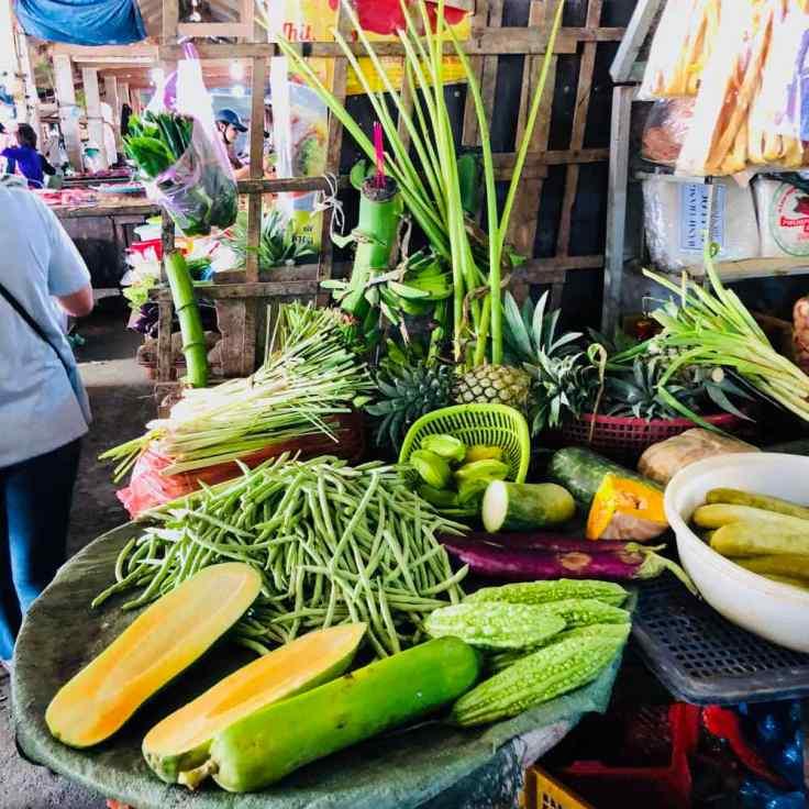 """Nature """"Vivante"""" sur le marché de Hoi An - Vietnam"""