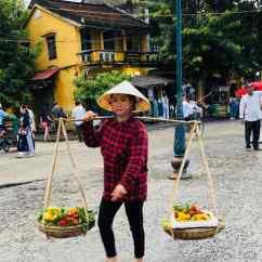 Marchande ambulante - Hoi An - Vietnam