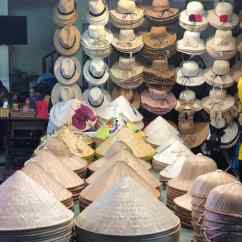 Etal de chapeaux - Hoi An - Vietnam