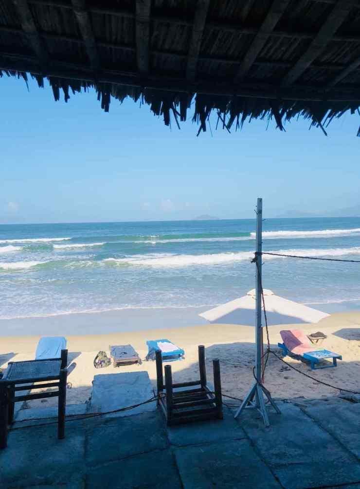 Hidden Beach - LA terrasse d'où Geoffrey est tombé - Hoi An - Vietnam