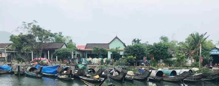 Village de pêcheurs - Région de Hue - Vietnam