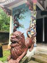 Détail d'entrée d'un temple -Montagne de marbre - Da Nang - Vietnam