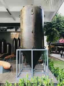 Obus made in US - Musée de la guerre - Saigon - Vietnam