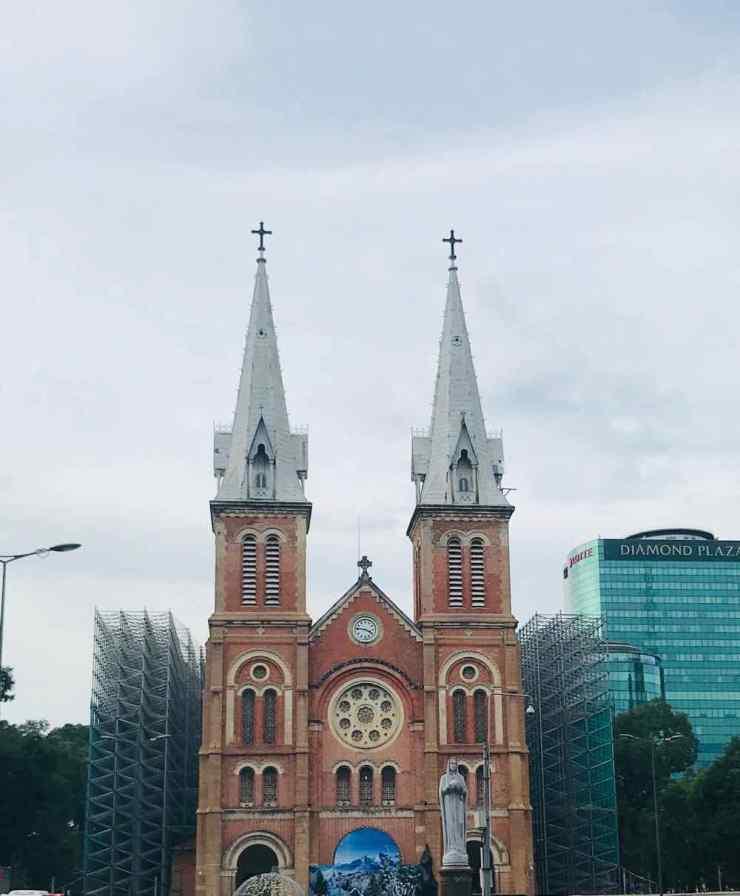 Cathédrale Notre-Dame - Saigon - Vietnam