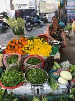 Marché terrestre de Can Tho - Vietnam