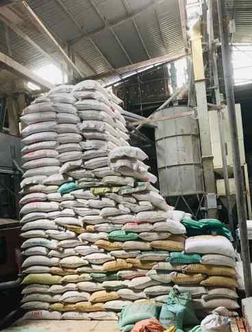 Sacs de riz - Can Tho - Vietnam
