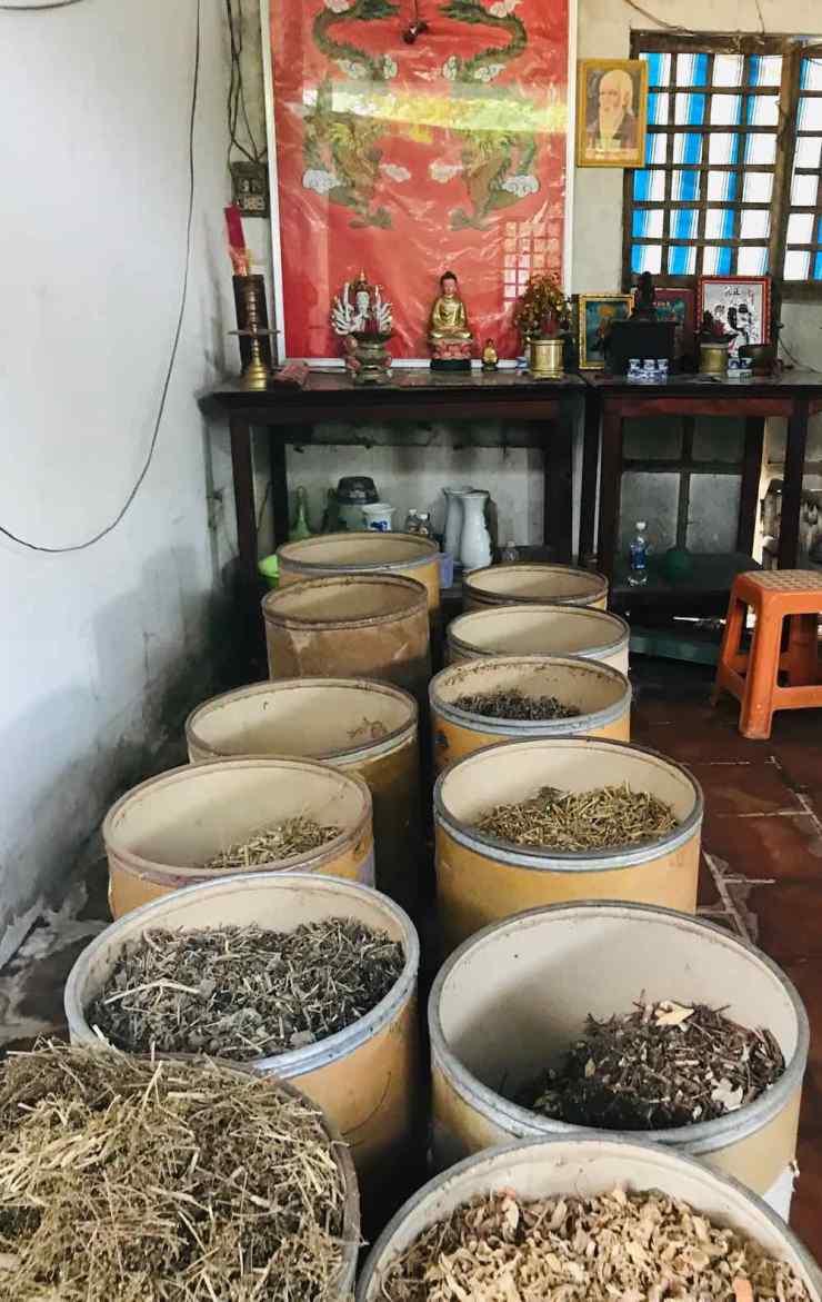 Herbes du guérisseur - Can Tho - Vietnam