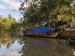 Bateau traditionnel - Mekong - Vietnam
