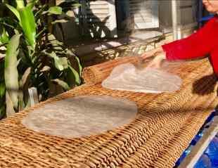 Fabrique de pâte de riz - Can Tho - Vietnam