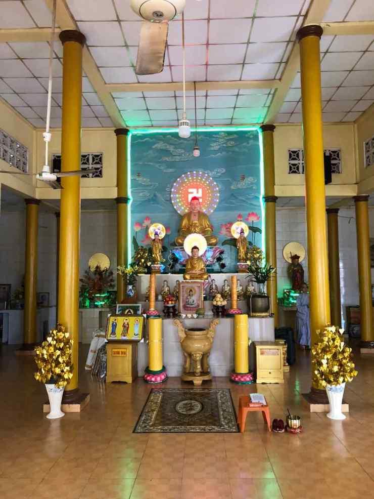 Temple hébergeant des orphelins - Can Tho - Vietnam