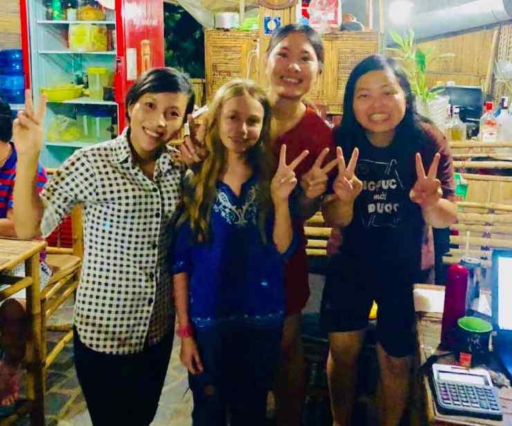 Hant et ses copines - Nguyen Shack - Can Tho - Vietnam