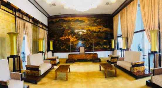Salon d'apparat - Palais de la réunification - Saigon- Vietnam