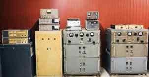 Matériel radio dans le bunker - Palais de la réunification - Saigon - Vietnam