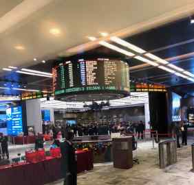 Musée de la bourse - Hong-Kong