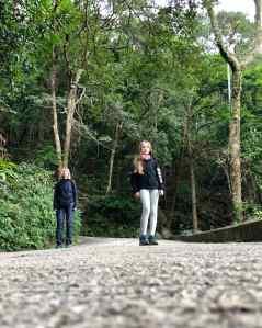 Redescente à pied depuis le Peak, par une ancienne route, en pleine nature - Hong-Kong