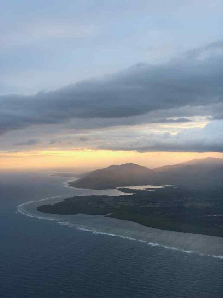 Premieres images des Philippines, vues du Ciel