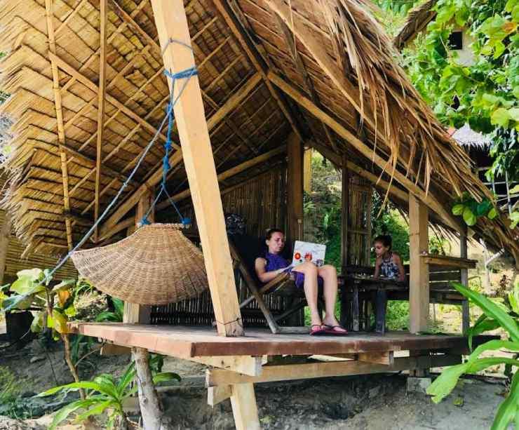 Dur de bosser ici - Sibaltan - Palawan - Philippines