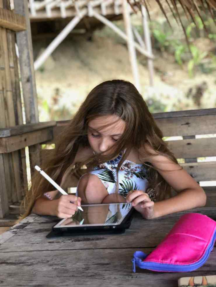 L'heure des leçons - Sibaltan - Palawan - Philippines