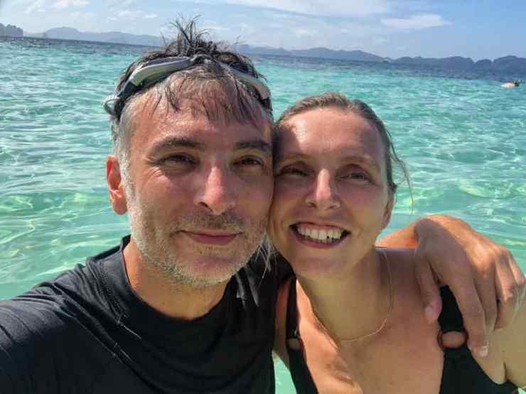 Selfie turquoise - Archipel du bacuit - Palawan - Philippines