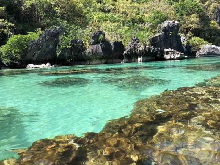 Lagon - Archipel du bacuit - Palawan - Philippines