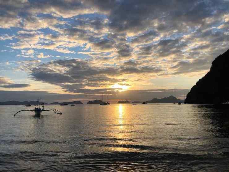 Coucher de Soleil sur El Nido - Palawan - Philippines