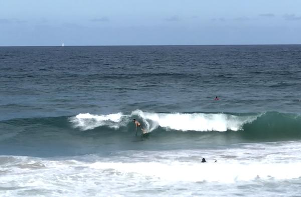 Surfeurs pros en action - Gold Coast - Australie