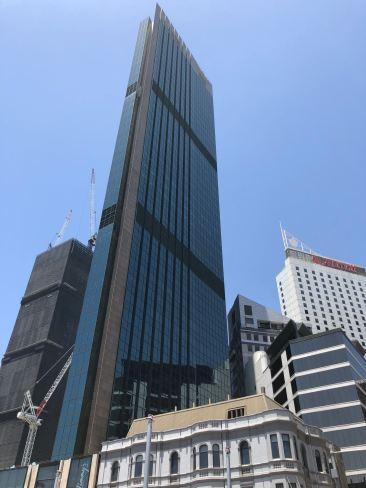 Gratte-ciel et immeuble colonial - Sydney - Australie