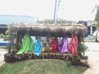 Crèche de Noël à San Juan - Siquijor - Philiipines