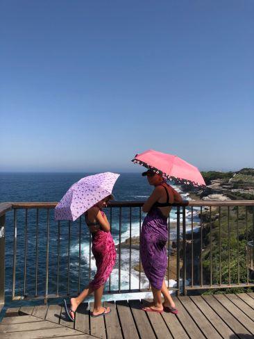 Pfou il faut trop chaud ! Asiatique style le long de la coastal walk - Sydney - Australie