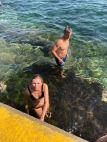 Petit rafraichissement à Clovelly Beach - Coastal Walk - Sydney - Australie